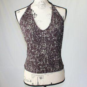 Kenneth Cole New York Women's Halter Top Shirt L
